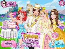 Rapunzel Wedding Prep
