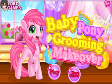 Baby Pony Grooming Makeover