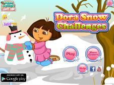 Dora Snow Challenges