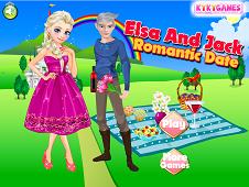 Elsa and Jack Romatic Date