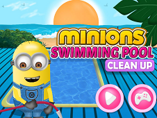 Minions Swimming Pool Clean-Up