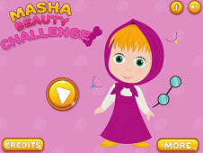 Masha Beauty Challenge
