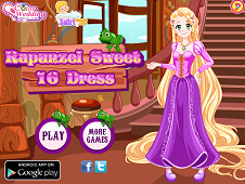 Rapunzel Sweet 16 Dress