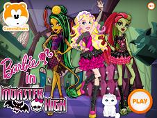 Barbie in Monster High