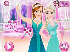 Disney Bridesmaid Selfie