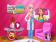 Elsa Taking Care Of Anna