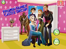 Frozen Family Castle Decor