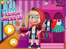 Masha Fashion Dress Up