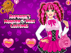 Rapunzel's Monster High Costumes