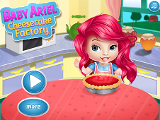 Baby Ariel Cheesecake Factory