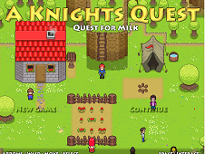 A Knight's Quest For Milk