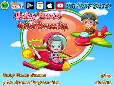 Baby Hazel Pilot Dressup