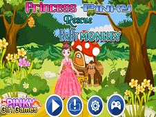 Princess Pinky Rescue Monkey