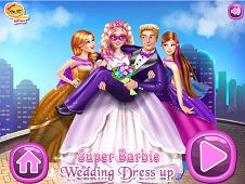 Super Barbie Wedding Dress-Up