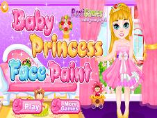 Baby Princess Face Paint