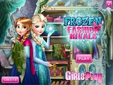 Elsa and Anna Fashion Rivals