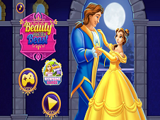 Beauty And Beast Wedding Party
