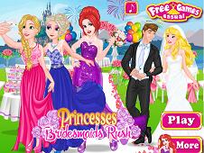 Princesses Bridesmaids Rush