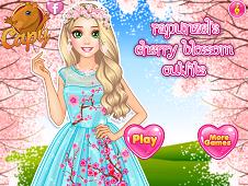 Rapunzel's Cherry Blossom Outfits