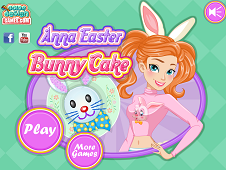Anna Easter Bunny Cake