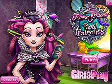 Raven Queen Real Haircuts