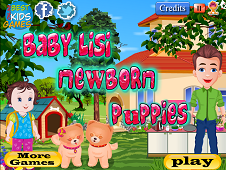 Baby Lisi Newborn Puppies