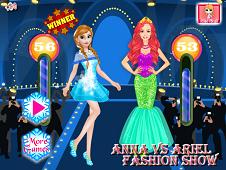 Anna vs Ariel Fashion Show