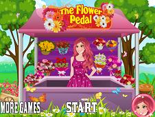 Barbie Flower Pedal Shop