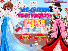 Ice Queen Time Travel Japan