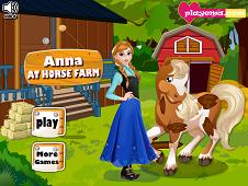 Anna At Horse Farm