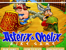 Asterix and Obelix Bike