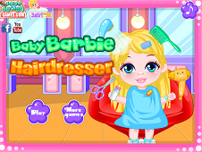 Baby Barbie Hairdresser