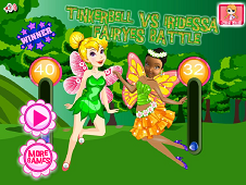Tinkerbell Vs Iridessa Fairies Battle