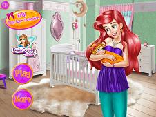 Ariel Baby Room Decoration