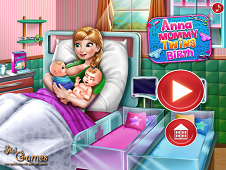 Anna Mommy Twins Birth