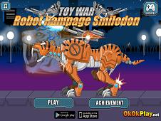 Toy War Robot Rampage Smilodon