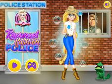 Rapunzel Fashion Police