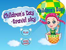 Children's Day Travel Sky