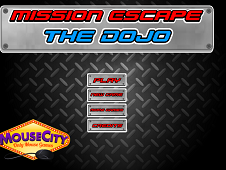 Mission Escape The Dojo