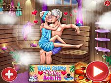 Elsa Sauna Flirting Realife