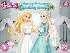 Disney Princess Wedding Models