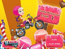 Candy Motocross Crash 2