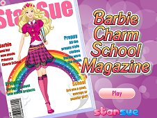 Barbie Charm School Magazine