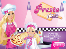 Pizza Chef Barbie