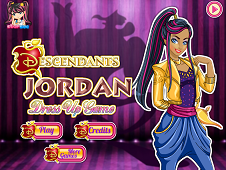Disney Descendants Jordan Dress Up