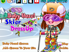 Baby Hazel Skier Dress-Up