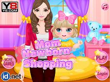 Mom Newborn Shopping