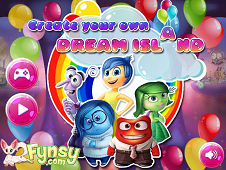 Inside Out Create Your Dream Island