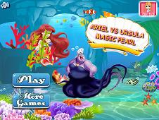 Ariel Vs Ursula Magic Pearl