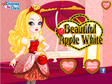 Beautiful Apple White